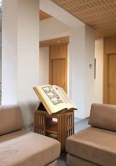 Revolving Bookcase by Gabriel Allende. Fundación Santillana, Madrid