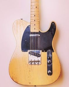 1950 Fender Broadcaster. Happy #teletuesday #fender #telecaster #broadcaster #fenderguitar #electricguitar #fendertelecaster #tele #guitar #vintage #guitars
