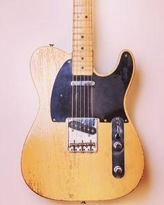 1950 Fender Broadcaster. Happy #teletuesday #fender #telecaster #broadcaster #fenderguitar #electricguitar #fendertelecaster #tele #guitar #vintage #guitars
