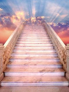 stairway to heaven?  I wish it were that easy to visit you!
