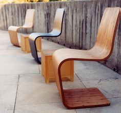 bamboo furniture by modern bamboo - imagine u could build some bounce into this