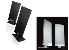 kEF t 101 White/Black Bianco/Nero Coppia/Pair   eBay