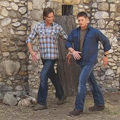Oh the shenanigans. <--- I'm laughing so hard and I don't even watch Supernatural!!! <-- gosh darn you guys