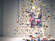 "Saks Fifth Avenue, ""It's my party and I'll cry if i want to"", pinned by Ton van der Veer"