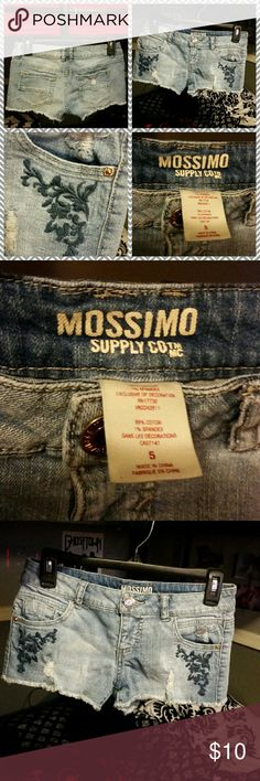 Mossimo short shorts Too small worn once or twice Mossimo Supply Co Shorts Jean Shorts