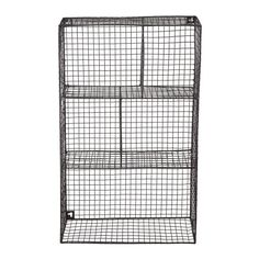 <div>Organize toys, craft supplies, office items and more in this durable metal basket. It's div...