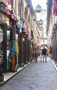 Alcaiceria de Granada.  Street with Moorish shops. Granada, SPAIN. http://www.costatropicalevents.com/en/costa-tropical-events/andalusia/cities/granada.html