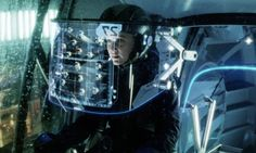 "Ship HUD UI (User Interface) for the film ""Minority Report"" Copyright Dreamworks LLC and Twentieth Century Fox Film Corporation Minority Report, Google Glass, Head Up Display, Fandom Outfits, Future Tech, Apple Products, Augmented Reality, Futuristic, Geek Stuff"