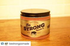 #Repost @bestrongpomade with @repostapp.