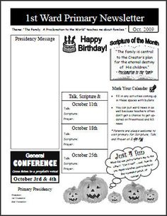 template for primary newsletter primary pinterest template