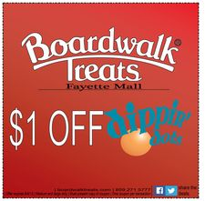 $1 off Dippin' Dots for two weeks!