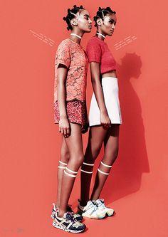 Black Fashion Models, A Fashion Friend, Travys Owen, South Africa