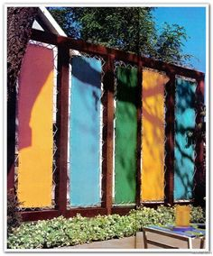 Hey Nosey Neighbor... Take This. Whooop Whoop!! I Think I. Outdoor Privacy  ScreensPrivacy FencesOutdoor ProjectsOutdoor IdeasFabric ...