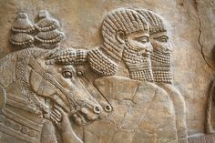 The Royal Lion Hunt. Assyrian about 645-635 BC, From Nineveh, North Palace.