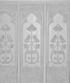 Lincruster gothic dado panel detail