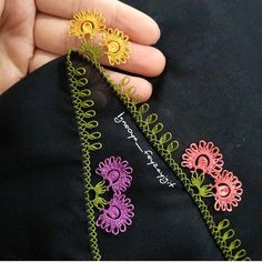 Thread Art, Needle And Thread, Crewel Embroidery, Embroidery Designs, Tatting Patterns, Needle Lace, Filet Crochet, Baby Knitting Patterns, Color Theory
