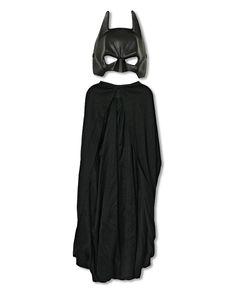 Batman Maske mit Cape | Batman Lizenz Artikel | horror-shop.com #Batman #Superhero