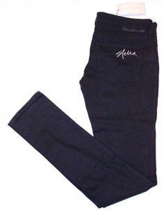 299.97$  Buy here - http://visbv.justgood.pw/vig/item.php?t=v7sz5xj41964 - STELLA McCARTNEY Denim DESIGNER Logo STRAIGHT Jeans 28 FREE SHIPPING