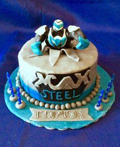 Max steel cake - Cake by Dora Th.