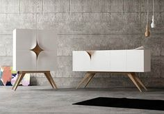 Slap, a unique furniture design concept for living room and bathroom. Italians have a feeling for sophisticated design and Nicola Conti is doing no excepti