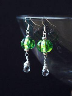 English earrings handmade English earrings by HandmadeEarringsUk