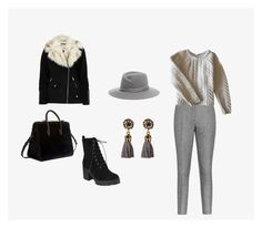 """Без названия #1"" by earwen-1 on Polyvore featuring мода, River Island, Reiss, Anine Bing и Strathberry"