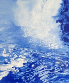 This is oil-falls10 / Oil on canvas, 2011 / 73 x 61 cm (28.7 x 24 inch)