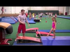 Coaching Vault at Gedderts Twistars Summer Camp 2011 With Daddy's help maybe.