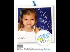 A Future Free from T1D - Olivia