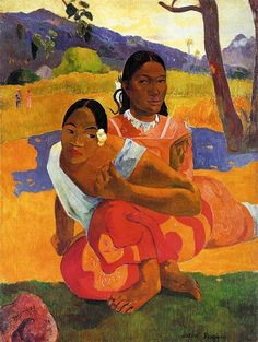 by Paul Gauguin in oil on canvas, done in . Now in a private collection. Find a fine art print of this Paul Gauguin painting. Post Impressionism, Eugène Henri Paul Gauguin, Fine Art, Artist, Painting, Most Expensive Painting, Painting Prints, Paul Gauguin, Expensive Paintings