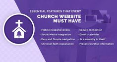 Essential features that every church website must have  https://freelancer-coder.com/features-church-website-must-have/