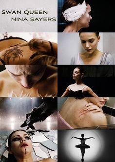 Black Swan - collage