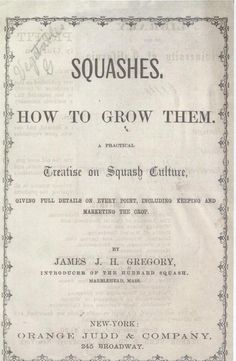 Book on Squashes