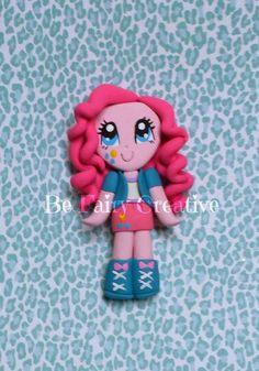 Pinkie Pie Inspired MLP Girl by BeFairyCreative on Etsy