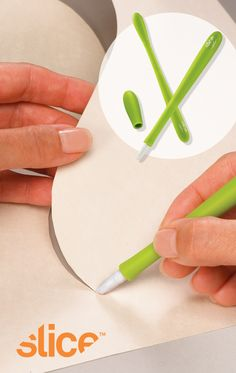 Slice Precision Cutter with micro-ceramic blade. Designed by Karim Rashid.
