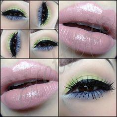 Simple eye look.  Makeup Ideas. Summer Makeup.