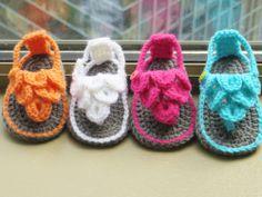 crochet patterns baby sandals   Crochet Dreamz: Crocodile St Baby Sandals or Booties, Crochet Pattern ...