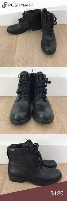 NWOT Camper Boots Gore Tex Camper boots, never worn, in perfect condition! Both hardy and fashionable, these boots are perfect whether you NEED boots or need (😉) boots Camper Shoes Ankle Boots & Booties