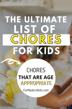 One of the best thing to do is to teach your child how to be responsible and independent - chores for kids is the best way to start with! These best chores for kids are age appropriate, and trust me, they are totally capable of these chores! #kidschoreslist #choresforkidsbyanyage Chores For Kids By Age, Age Appropriate Chores For Kids, Chores And Allowance, Kids Dishes, Chore List, Charts For Kids, Washing Dishes, Pet Bowls, Washing Clothes