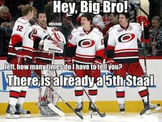 Skinner doesn't want to be a Staal!