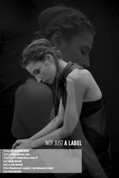 NOT JUST A LABEL | Annabelle Byrne #photography | Volt Café by Volt Magazine  #mixed_media