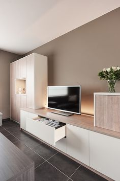 Camber Photos : learn more about the achievements of Camber in the image : rooms, . - Karen Scully - about Living Room Built Ins, Living Room Wall Units, Home Living Room, Living Room Designs, Living Room Decor, Tv Wall Design, House Design, Design Case, Muebles Living