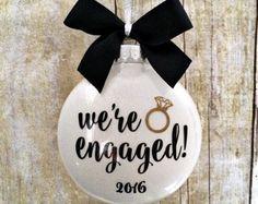 engagement ornament – Etsy