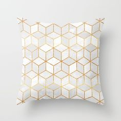 graphic, pattern, abstract, geometry, geometric, white, modern, cubes, hexagons