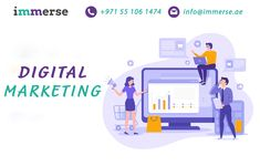 Immerse Digital Solutions is the leading digital marketing company Dubai that offers you all the SEO, SMO services; we have a proficient team of digital marketing that helps you to grow your business. Top Digital Marketing Companies, Digital Marketing Trends, Online Marketing, Thinking Strategies, Best Seo Company, Companies In Dubai, Search Engine Marketing, Digital Strategy, Seo Services