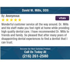 I had my first visit as a new patient at Wilmington Family Dental on I felt like. Family Dentistry, Sports Medicine, Pain Management, Property Management, Care About You, Chiropractic, Physical Therapy, Along The Way, Birmingham