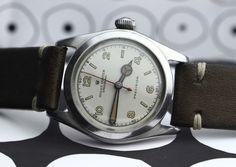 #Rolex #Speedking #1942 #steel #vintage #vintagewatches #leather #strap #steinermaastricht #maastricht #thenetherlands