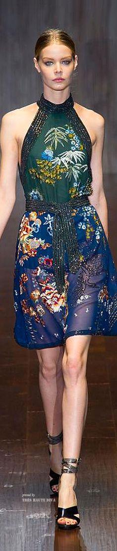 #MFW Gucci Spring Summer 2015 RTWKOONN® MODULAR DECORATION CONCEPT. HANDMADE , UNIQUE CONCEPT 100% RECYCLED ALUMINIUM WWW.KOONN.NL KOONN.DE,