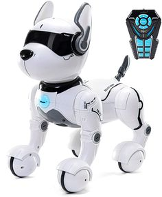 Remote Control Robot Dog Toy, Robots for kids, Rc Dog Robot Toys for Kids year olds and up, smart & Dancing Robot Toy, Imitates Animals mini Pet Dog Robot - TechTronic Dog Toys, Baby Toys, Robot Animal, Clever Dog, Real Dog, Kids Electronics, Robots For Kids, Toy Puppies, Dinosaur Toys