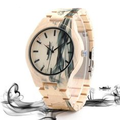 Cheap watch brand, Buy Quality watch for directly from China watches for men Suppliers: BOBO BIRD Maple Wood Watch for Men Pine Band Top Brand Luxury Wash Painting Chinoiserie Quartz Watches in Wooden Box OEM Chinoiserie, Wooden Watches For Men, Great Gifts For Men, Cool Watches, Men's Watches, Wrist Watches, Ladies Watches, Fossil Watches, Watches